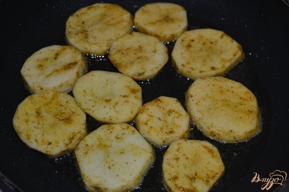 Фото приготовление рецепта: Картофель Карри шаг №3
