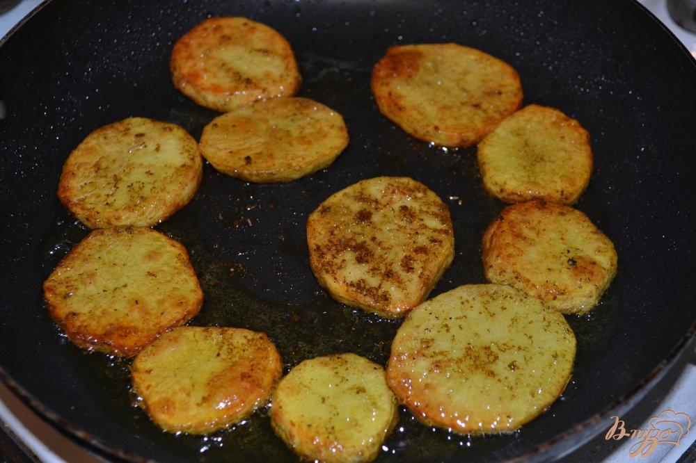 Фото приготовление рецепта: Картофель Карри шаг №4