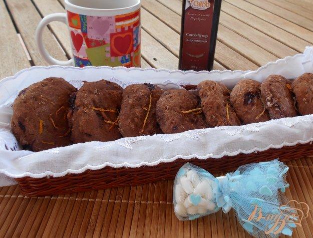 фото рецепта: Постное печенье с кэробом