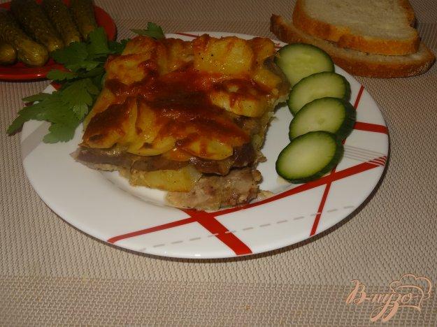 фото рецепта: Мясо с картофелем по французски