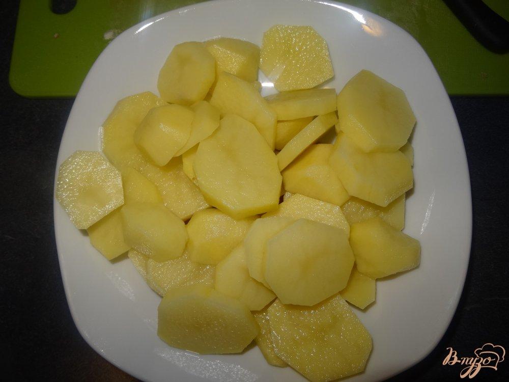 Фото приготовление рецепта: Мясо с картофелем по французски шаг №1