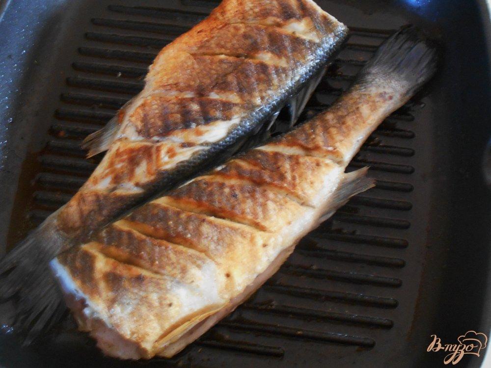 Приготовить гриль газ рыбу