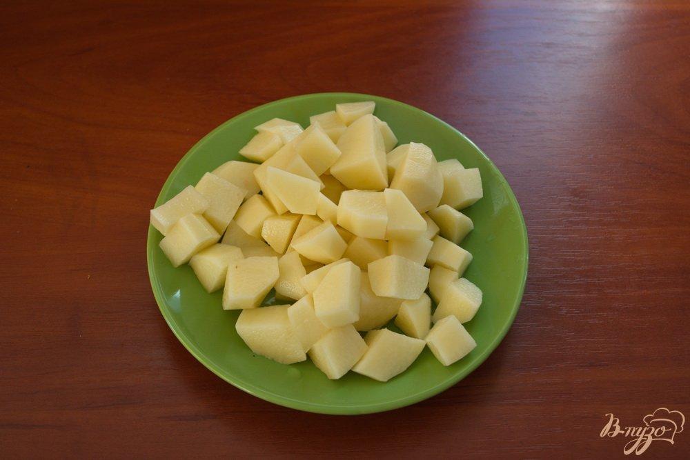 Фото приготовление рецепта: Легкий суп с мясом шаг №2