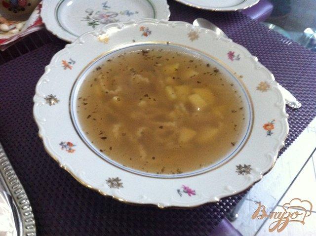 Фото приготовление рецепта: Куриный суп шаг №3