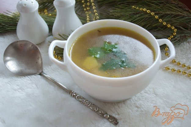 фото рецепта: Рисовый суп с фаршем