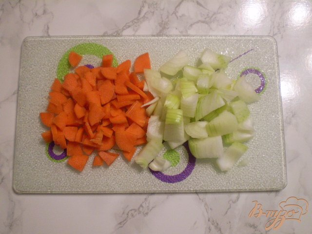 Фото приготовление рецепта: Рагу в мультиварке шаг №3