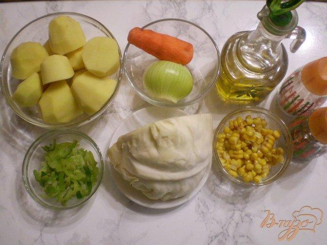 Фото приготовление рецепта: Рагу в мультиварке шаг №1