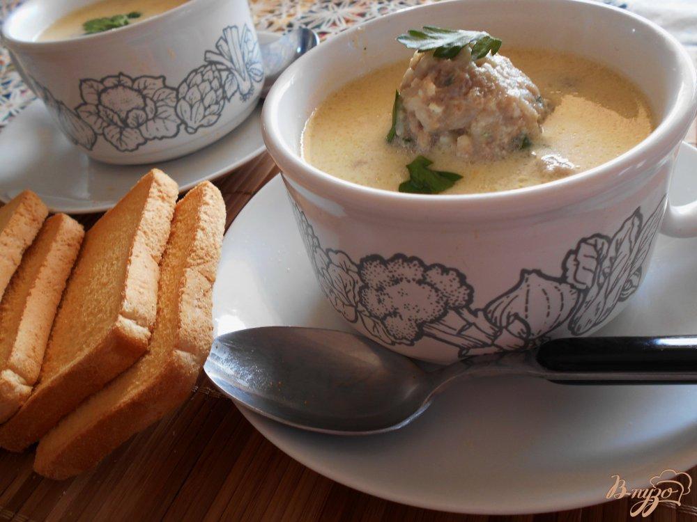 Фото приготовление рецепта: Греческие фрикадельки в яично-лимонном соусе шаг №9