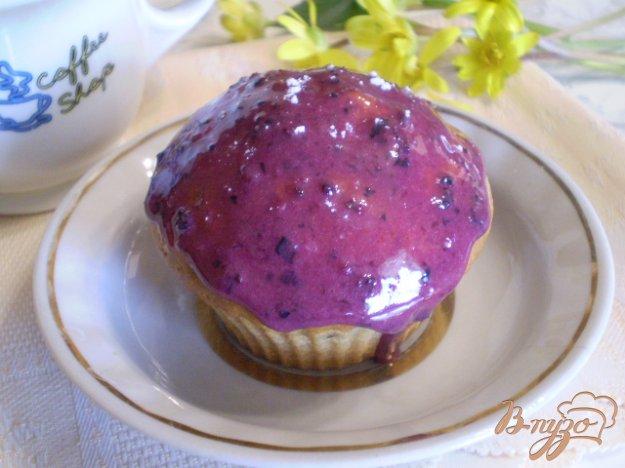 фото рецепта: Кексы ванильные с творогом и изюмом