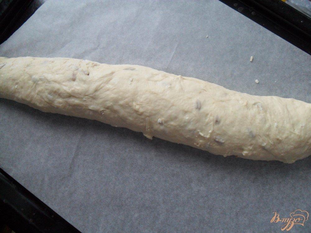 Фото приготовление рецепта: Хлеб с семечками шаг №4