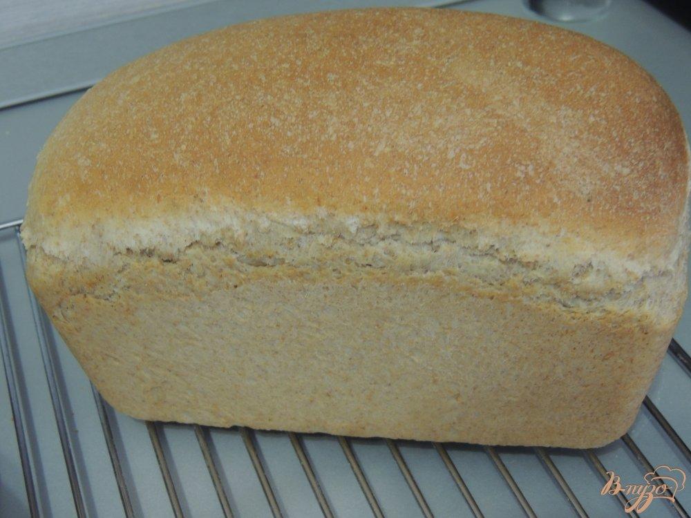 Фото приготовление рецепта: Итальянский хлебушек с цельнозерновой мукой шаг №7