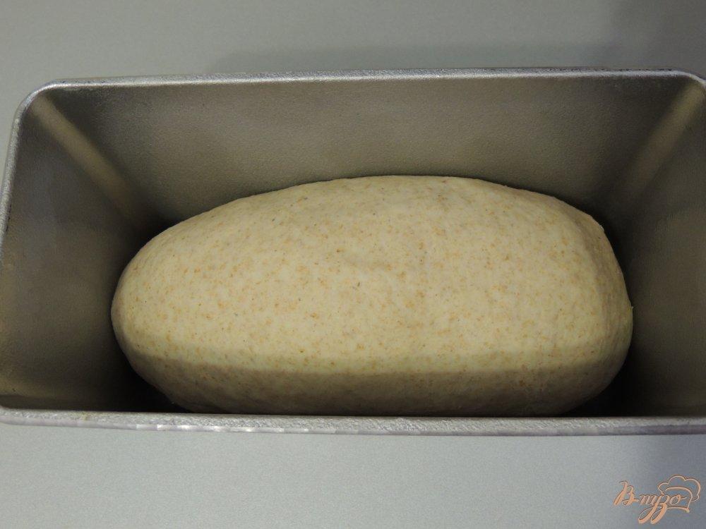 Фото приготовление рецепта: Итальянский хлебушек с цельнозерновой мукой шаг №5