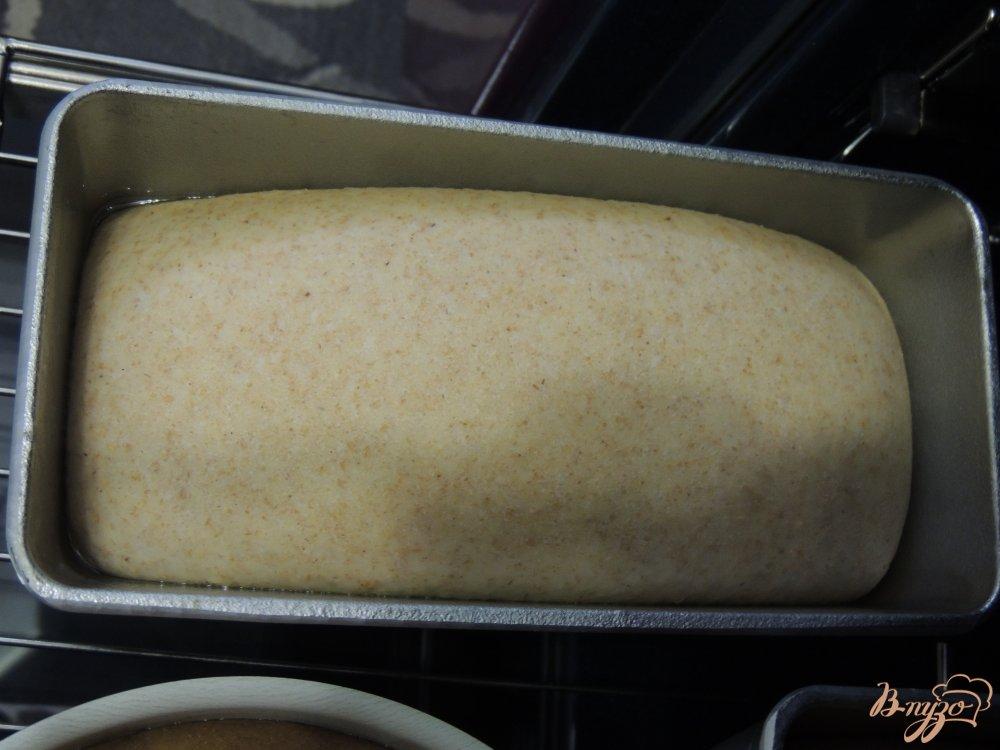 Фото приготовление рецепта: Итальянский хлебушек с цельнозерновой мукой шаг №6