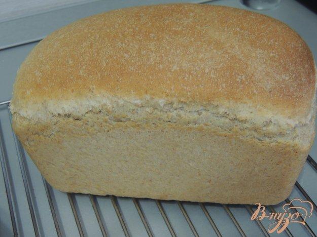 фото рецепта: Итальянский хлебушек с цельнозерновой мукой