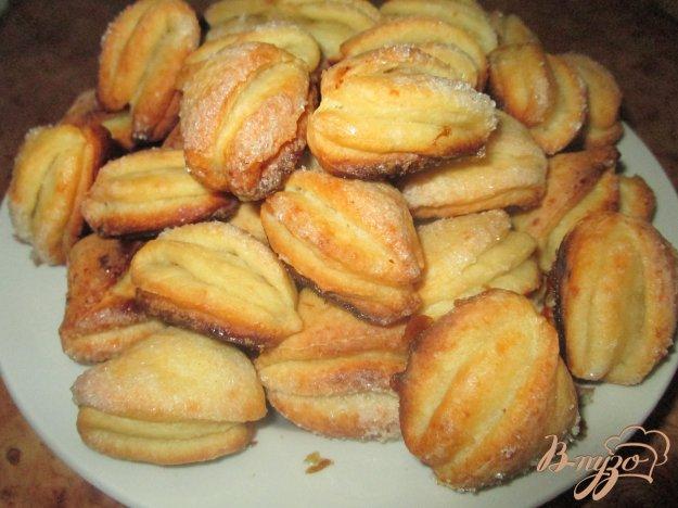 Печенье творожное с сахаром рецепт с пошагово