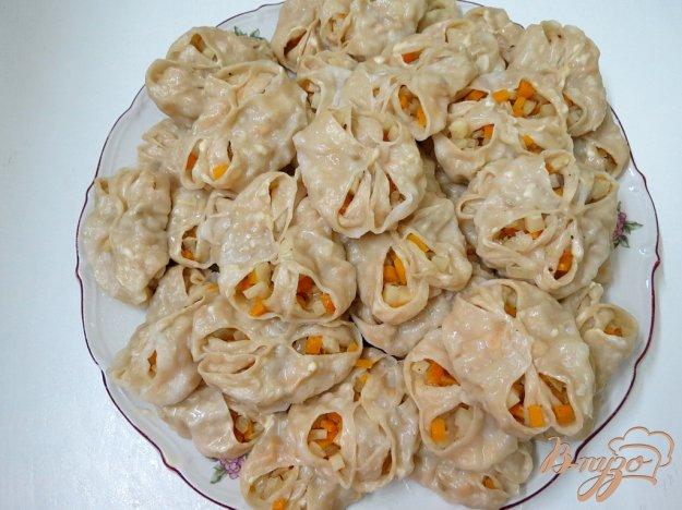 Узбекские манты с картошкой и фаршем рецепт 2