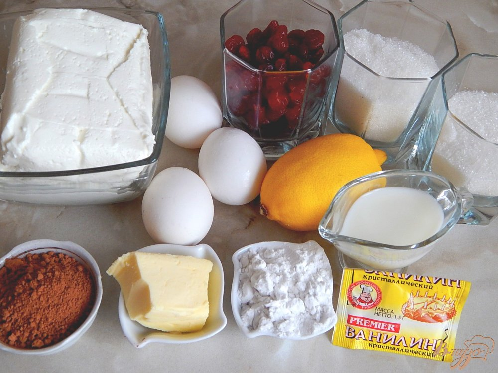 Фото приготовление рецепта: Сырник шаг №1