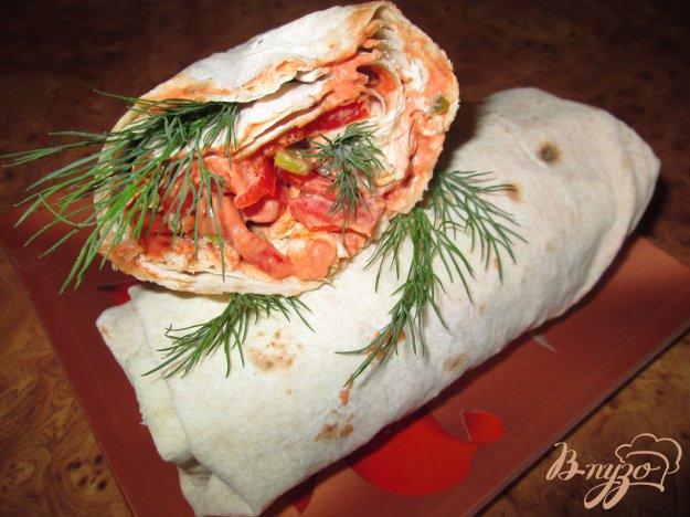 фото рецепта: Буррито на скорую руку