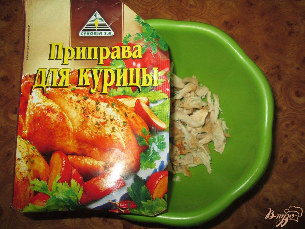 Фото приготовление рецепта: Буррито на скорую руку шаг №3