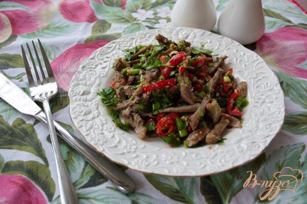 Салат с варёным мясом рецепт