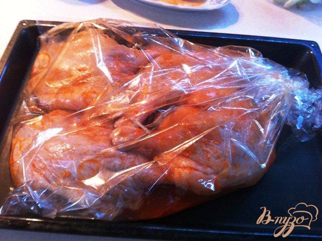 Фото приготовление рецепта: Утиные ножки в кисло=сладком маринаде шаг №5