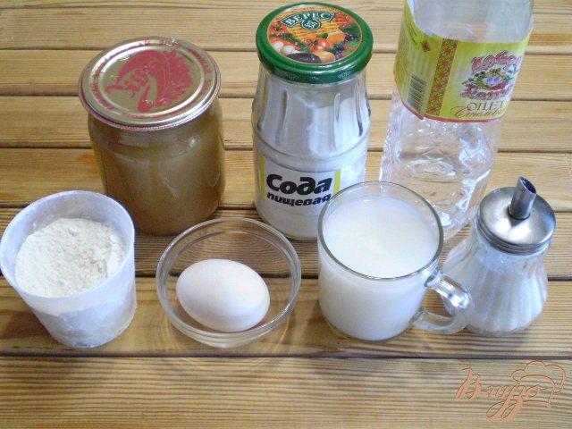 Фото приготовление рецепта: Блинчики с повидлом шаг №1