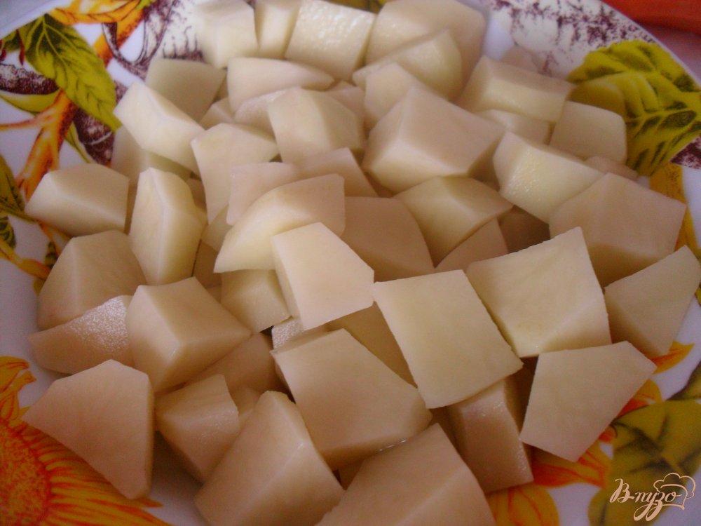 Фото приготовление рецепта: Гороховый суп со свининой шаг №4