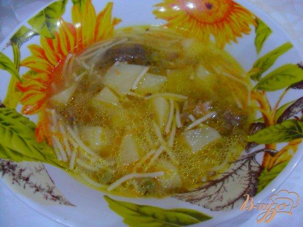 фото рецепта: Гороховый суп со свининой
