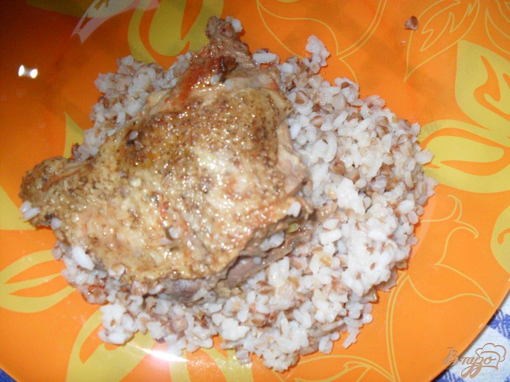 Фото приготовление рецепта: Курица тушенная шаг №5