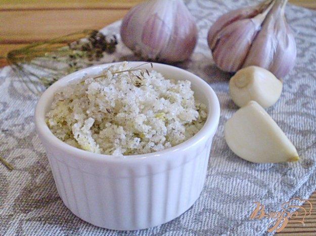фото рецепта: Адыгейская чесночная соль