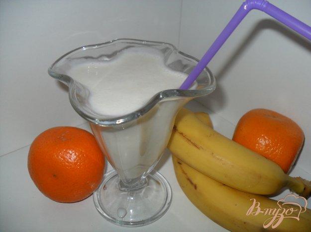 фото рецепта: Банановый молочный коктейль
