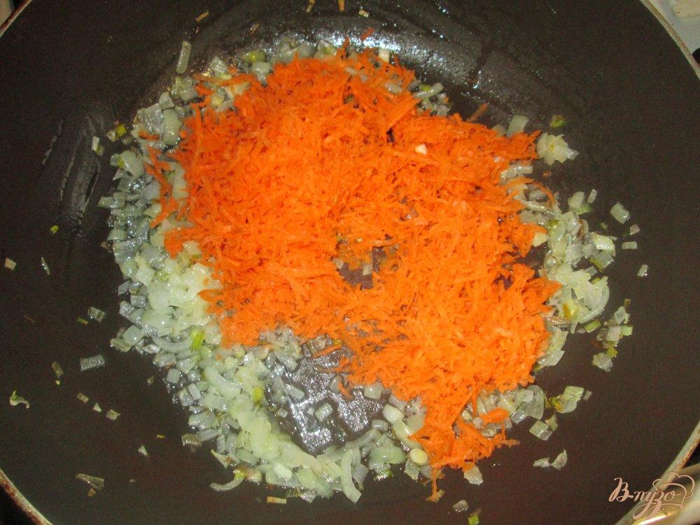 Фото приготовление рецепта: Капустняк с пшеном шаг №6