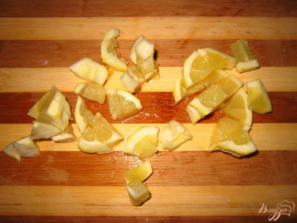 Фото приготовление рецепта: Рис по индийски с лимоном шаг №3
