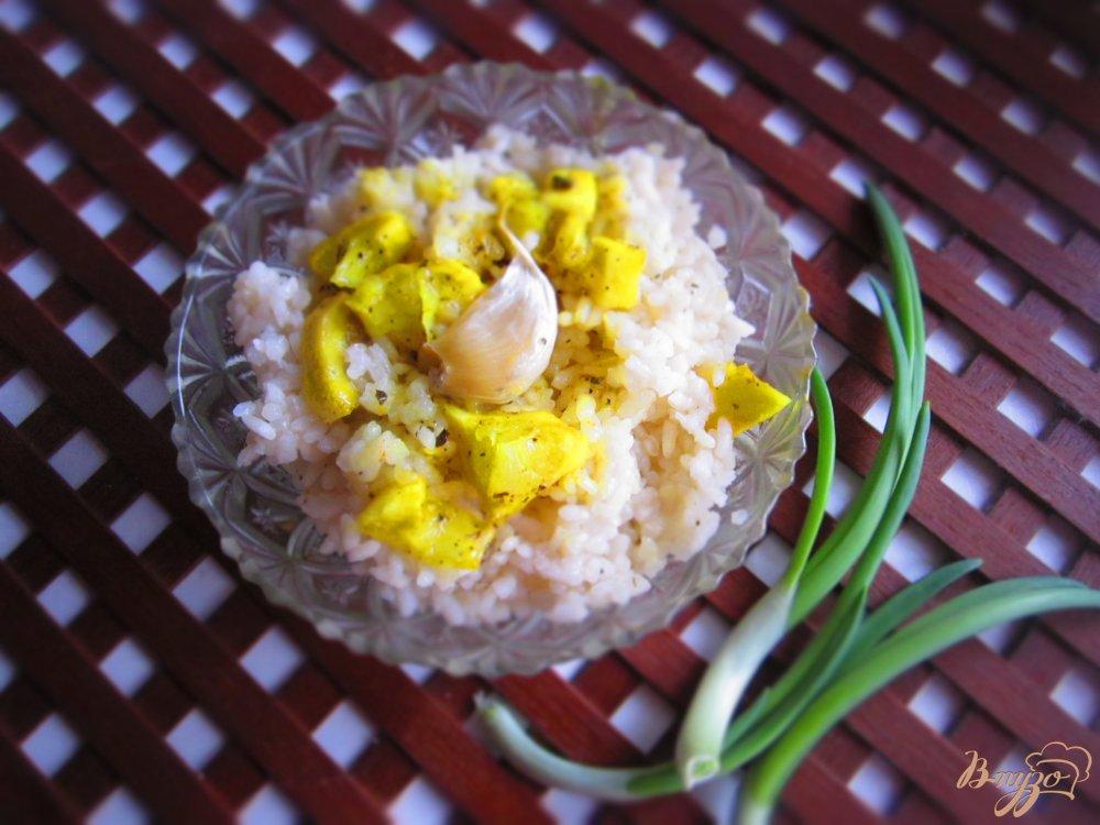 Фото приготовление рецепта: Рис по индийски с лимоном шаг №5