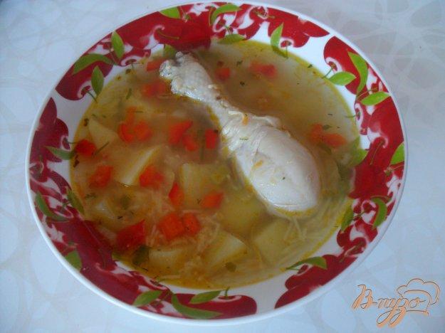 фото рецепта: Суп с куриными ножками