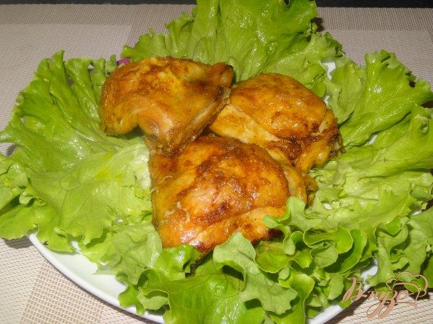 фото рецепта: Куриные бедрышки запеченные в духовке