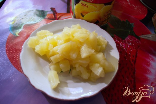 Блинчики с ананасами