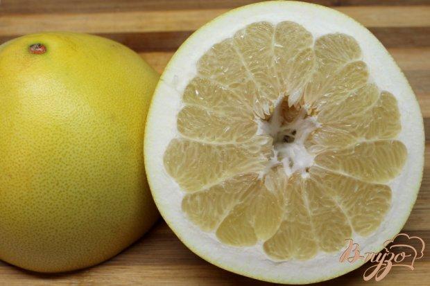 Рецепт Салат с помело и сухофруктами