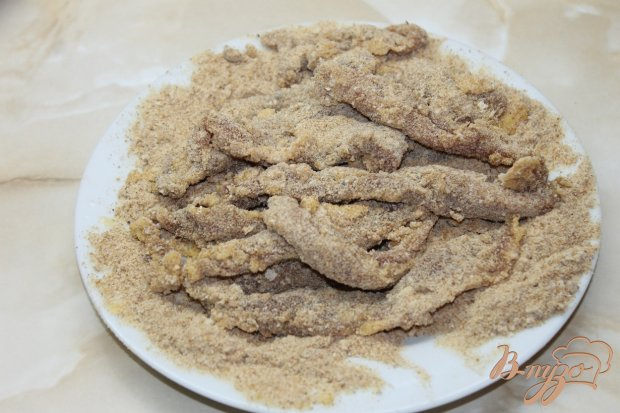 Куриные палочки фри с соевым соусом