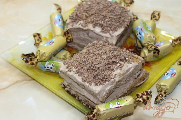 Мини тортик Абрикоска