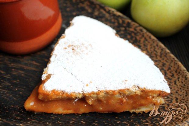 Пирог с повидлом из груш