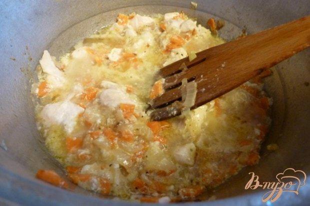 Рагу с капустой и фасолью