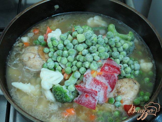 Голени с овощами