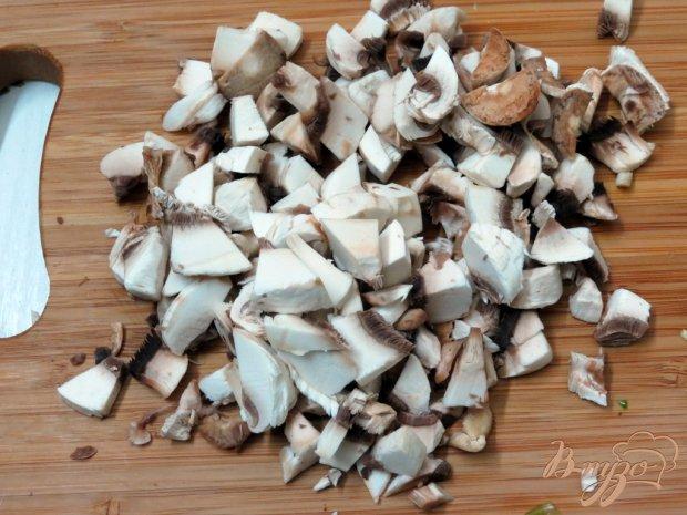 Карп фаршированный черемшой, луком и грибами