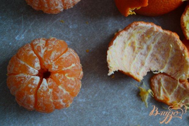 Рецепт Десерт с карамелизированными мандаринами