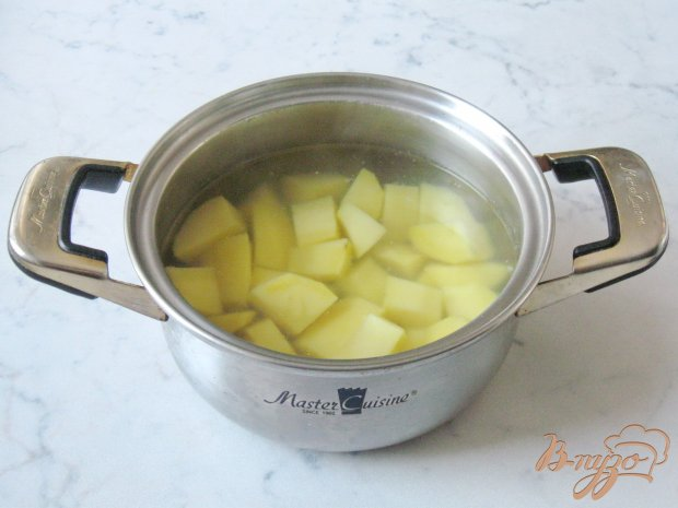 Рецепт Картофельные котлеты с грибами и луком