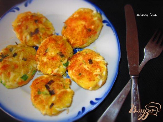 Котлеты из яиц с картофелем