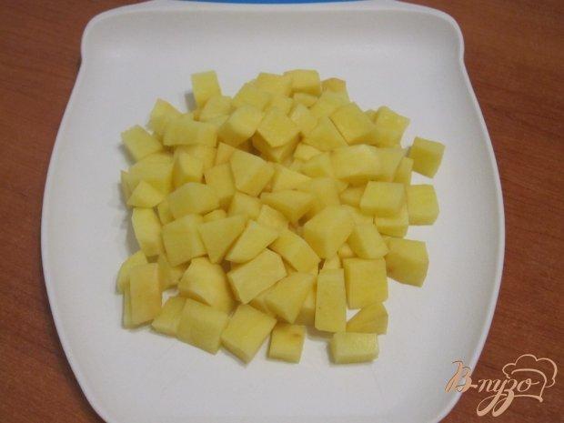 Суп-пюре с картофелем и сельдереем