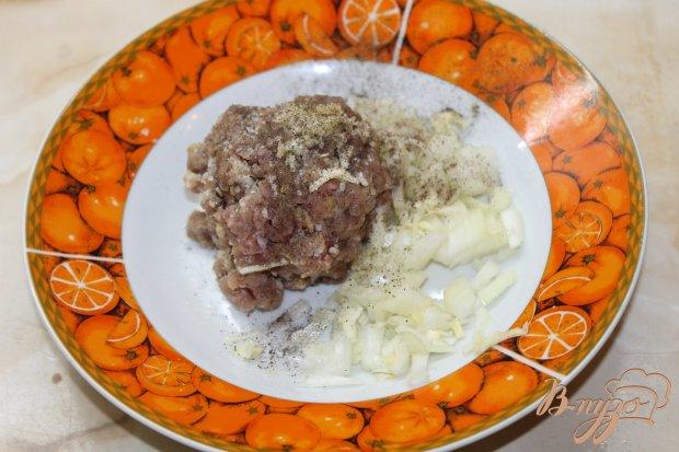 Шпинатные блинчики с мясом