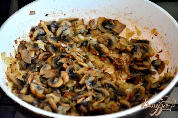 Корзиночки из блинов с грибной начинкой